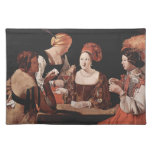 Cheat Ace of Diamonds - Georges de la Tour (1635) Place Mats