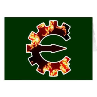 Cheat Engine Logo 2 - Fractal Greeting Card