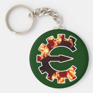 Cheat Engine Logo 2 - Fractal Keychain