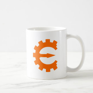 Cheat Engine Logo 2 - Orange Classic White Coffee Mug