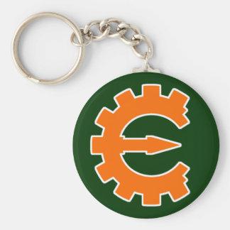 Cheat Engine Logo 2 - Orange Keychain
