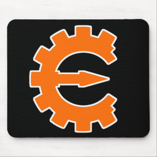Cheat Engine Logo 2 - Orange Mouse Pad