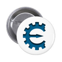 Cheat Engine Logo Pinback Button