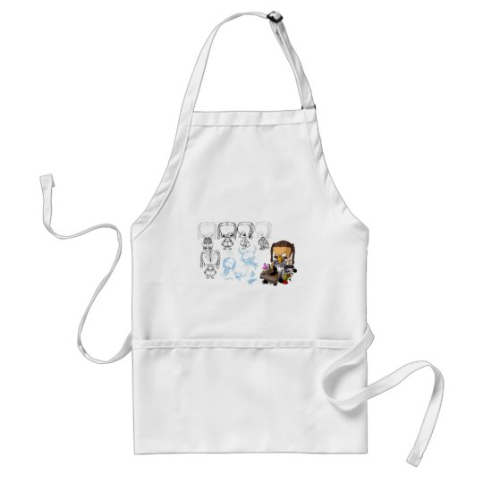 cheat-gangstaz Baby hip hop Adult Apron