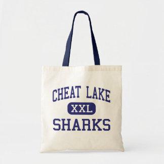 Cheat Lake Sharks Middle Morgantown Canvas Bag