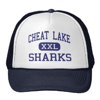 Cheat Lake Sharks Middle Morgantown Hats
