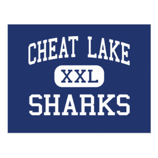 Cheat Lake Sharks Middle Morgantown Postcard