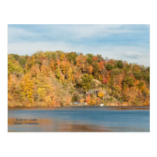 Cheat Lake, West Virginia Postcard