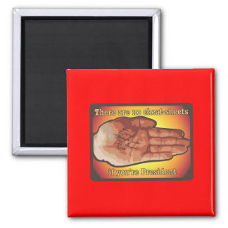 Cheat Sheet 2 Inch Square Magnet
