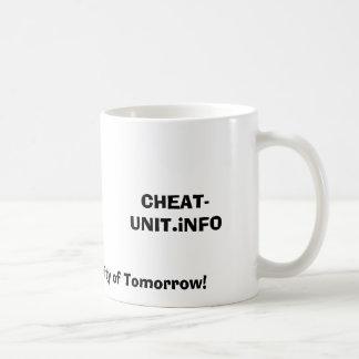 CHEAT-UNIT.iNFO, The Warez Community of Tomorrow! Classic White Coffee Mug