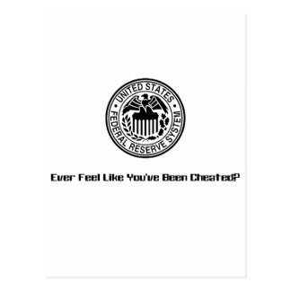 Cheated1 Postcard
