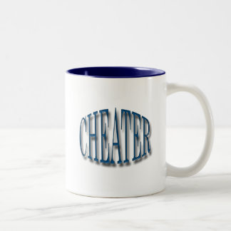 Cheater blue mugs