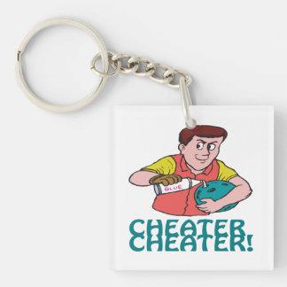 Cheater Cheater 1 Keychain