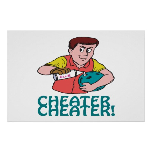 Cheater Cheater Poster