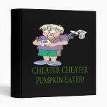 Cheater Cheater Pumpkin Eater Binder