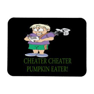 Cheater Cheater Pumpkin Eater Magnet