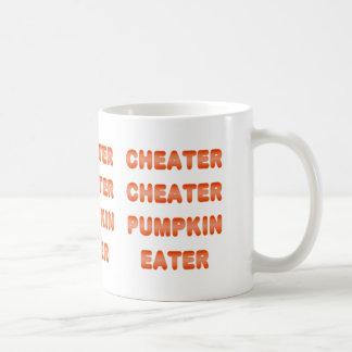 Cheater Cheater Pumpkin Eater Mugs