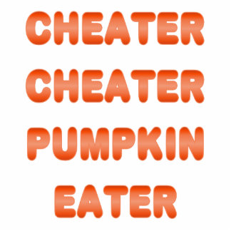 Cheater Cheater Pumpkin Eater Photo Cut Outs
