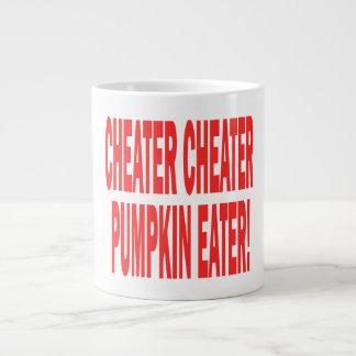 Cheater Cheater Jumbo Mug
