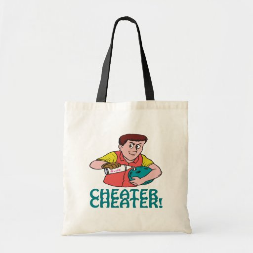 Cheater Cheater Tote Bags