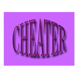 Cheater Postcard