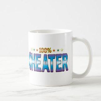 Cheater Star Tag v2 Coffee Mug