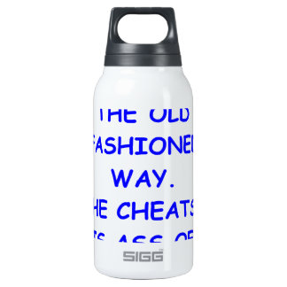 cheater thermos water bottle