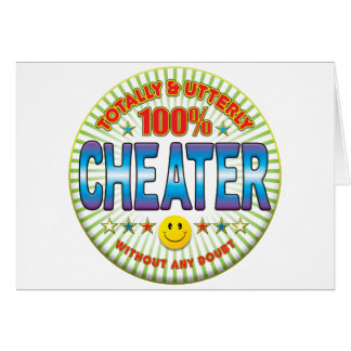 Cheater Totally Card