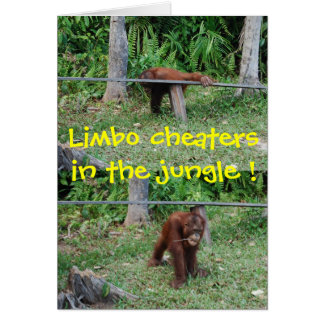 Cheaters in the Jungle card