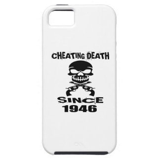 Cheating Death Since 1946 Birthday Designs iPhone SE/5/5s Case