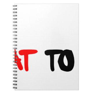 CHEATtoWIN png Spiral Notebooks