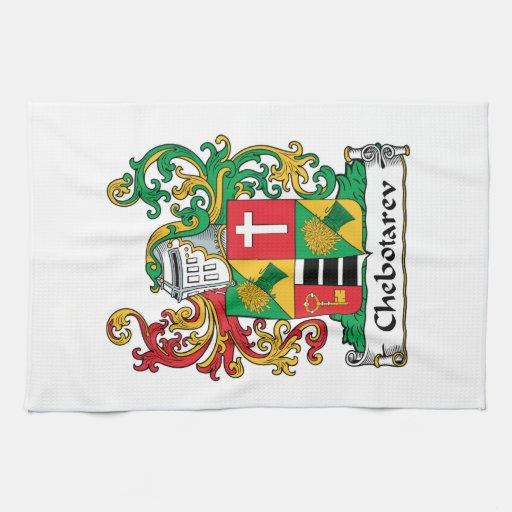 Chebotarev Family Crest Hand Towel