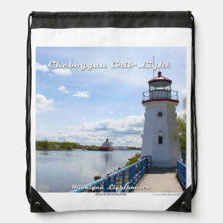 Cheboygan Crib Light - Drawstring Backpack
