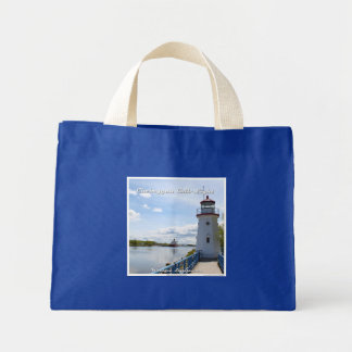 Cheboygan Crib Light - Small Tote Bag