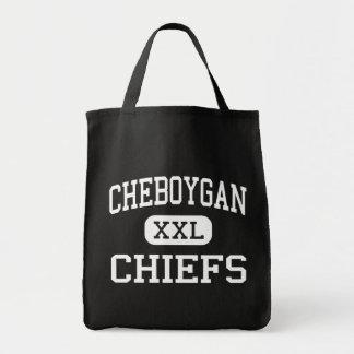 Cheboygan - jefes - alto - Cheboygan Michigan Bolsas
