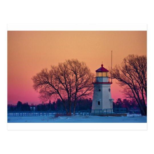 Cheboygan Light #3003 Postcard