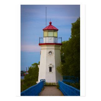 Cheboygan Lighthouse #6548 Postcard