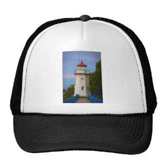 Cheboygan Lighthouse #6548 Trucker Hats