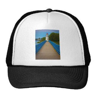 Cheboygan Lighthouse #6557 Mesh Hat