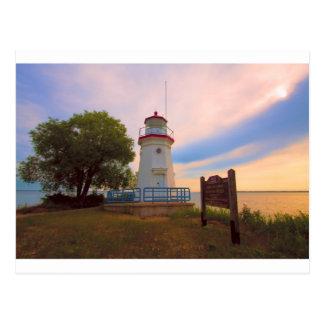 Cheboygan Lighthouse #6569 Postcard
