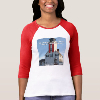 Cheboygan River Front Range Lighthouse T-Shirt