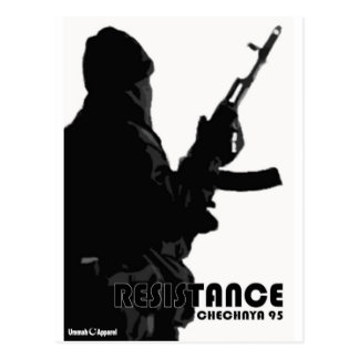 Chechnya Resistance Postcard