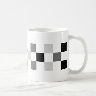 check-black coffee mug