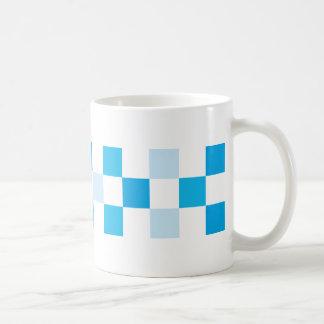 check-blue coffee mug