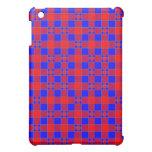 Check Case for iPad - Red Blue iPad Mini Cover