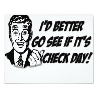 Check Day Card