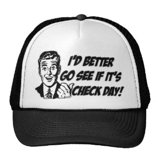 Check Day Trucker Hat