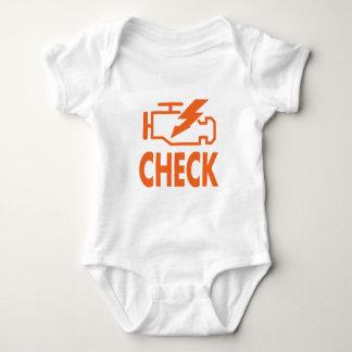 Check Engine Baby Bodysuit