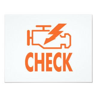 Check Engine Card