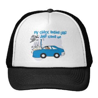 Check Engine Light Mechanic Trucker Hat